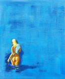 Lady-in-blue
